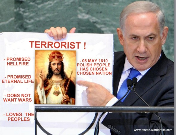 Netanyahu Jezus